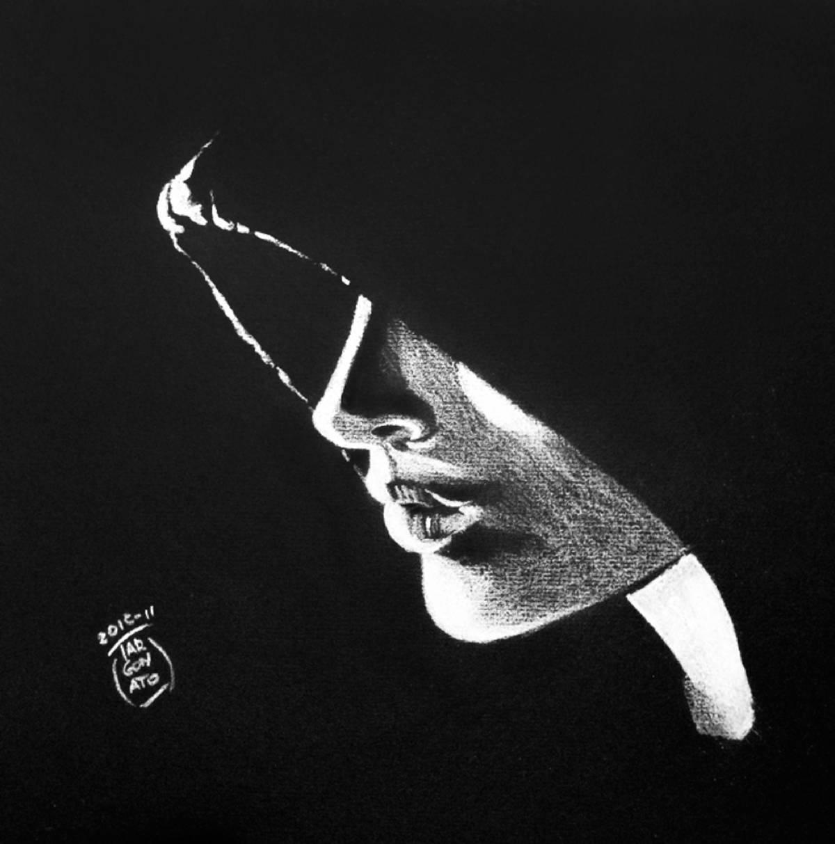 Disegno Nero Su Bianco.Bianco E Nero Michele Targonato Illustratore